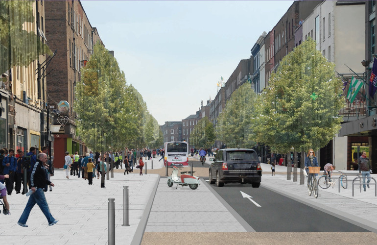 An early design for the Urban Centre Project in Limerick
