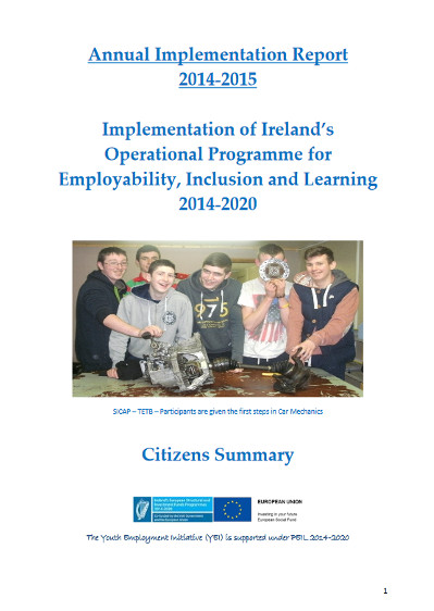 PEIL Annual Implementation Report